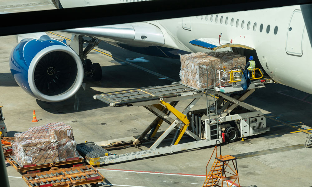 global logistics Getting from A to B with Air Freight blog image